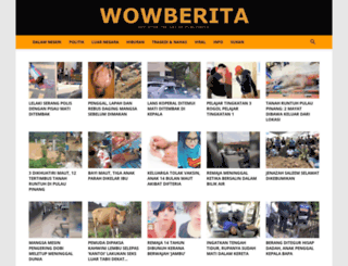wowberita.org screenshot