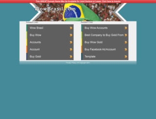 wowbrasil.com screenshot