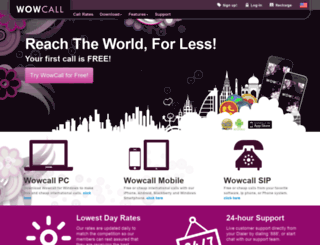 wowcall.com screenshot