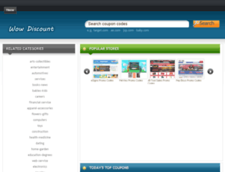 wowdiscount.org screenshot