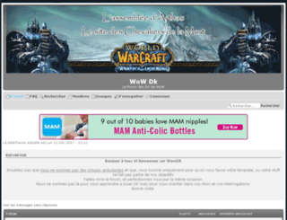 wowdk.forumchti.com screenshot