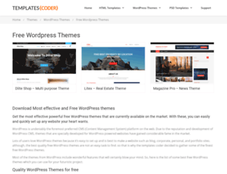 wowfreethemes.com screenshot