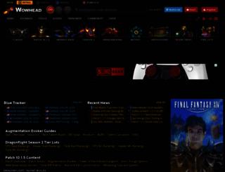 wowhead.com screenshot