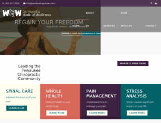 wowhealingcenter.com screenshot
