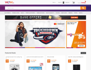 wowmall.lk screenshot