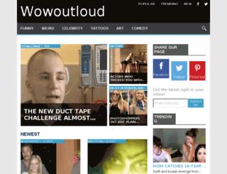 wowoutloud.com screenshot