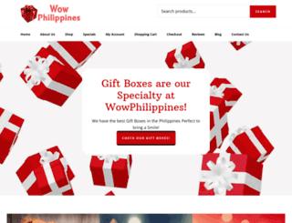 wowphilippines.com screenshot