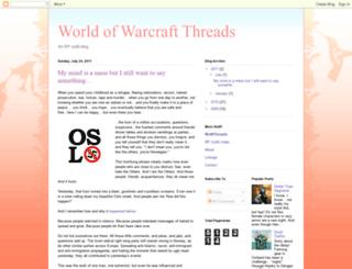 wowthreads.blogspot.com screenshot