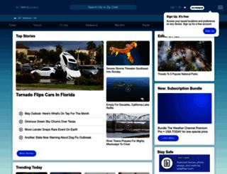 wowweb.weather.com screenshot