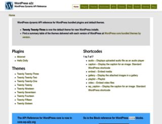 wp-a2z.org screenshot