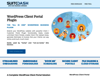 wp-client.com screenshot