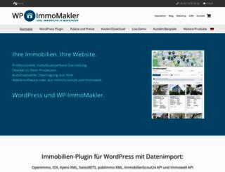 wp-immomakler.de screenshot