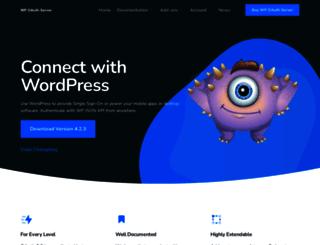 wp-oauth.com screenshot