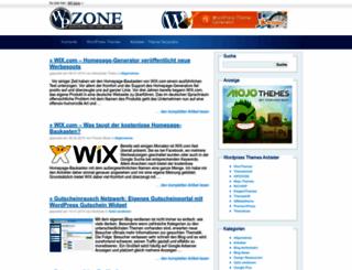 wp-zone.de screenshot