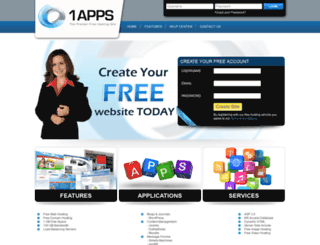 wp.1apps.com screenshot