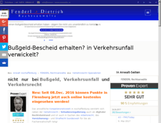 wp.fenderl-dietrich.de screenshot