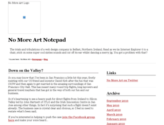 wp.nomoreart.com screenshot