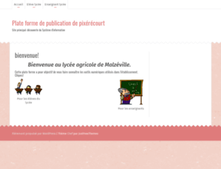 wp.pixerecourt.fr screenshot