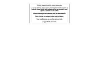 wp.trackr.fr screenshot