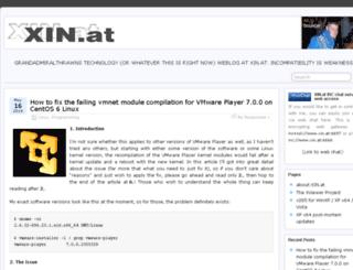 wp.xin.at screenshot