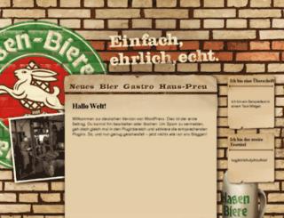 wp10.lottaleben.de screenshot