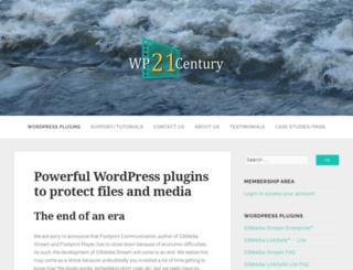 wp21century.com screenshot