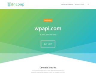 wpapi.com screenshot