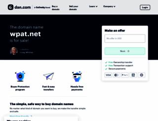 wpat.net screenshot