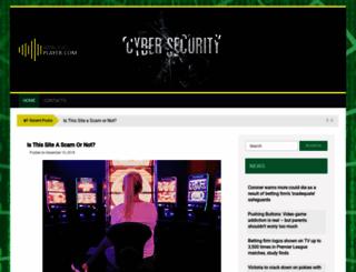 wpaudioplayer.com screenshot