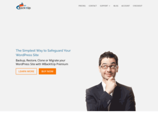 wpbackitup.com screenshot