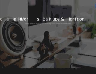 wpbackupvault.com screenshot