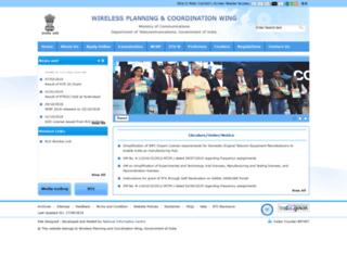 wpc.dot.gov.in screenshot