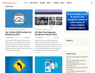 wpchandra.com screenshot