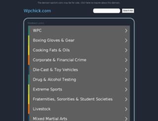 wpchick.com screenshot
