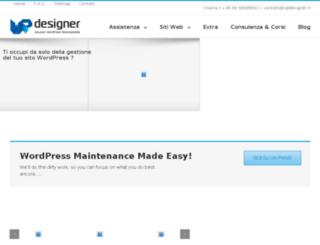 wpdesigner.it screenshot