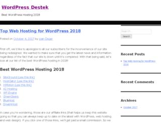 wpdestek.com screenshot