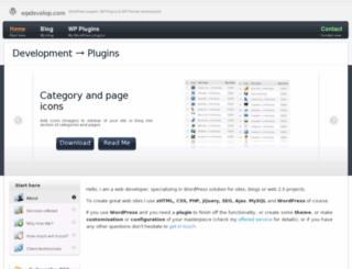 wpdevelop.com screenshot
