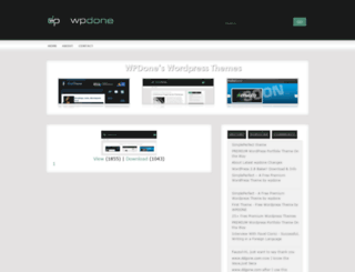 wpdone.com screenshot