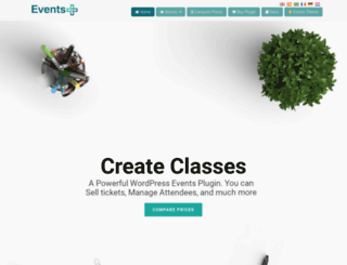 wpeventsplus.com screenshot