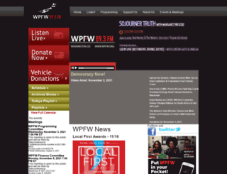 wpfw.org screenshot