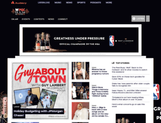 wpgc955.com screenshot