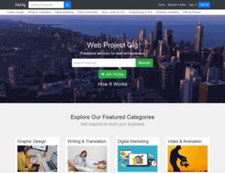 wpgig.com screenshot
