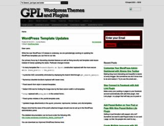 wpgpl.com screenshot