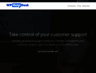 wphelpdesk.com screenshot