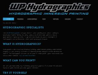 wphydrographics.co.uk screenshot