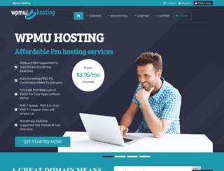 wpmu-hosting.com screenshot