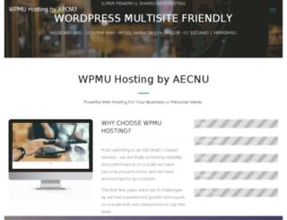 wpmu-hosting.org screenshot