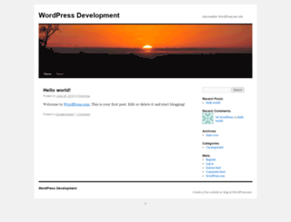 wpmudevorg.wordpress.com screenshot