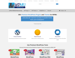 wpmupremium.com screenshot