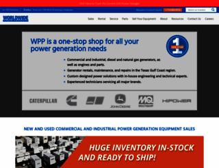 wpowerproducts.com screenshot